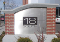 Architectural Exterior Business Branding from IMS Colorado Printing and Signs Lone Tree