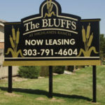 Informational Exterior Business Signs from IMS Colorado Printing and Signs Lone Tree