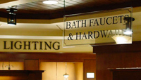 Interior Business Lettering from IMS Colorado Printing and Signs Lone Tree