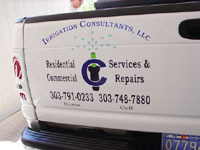 Cut vinyl graphics from IMS Printing and Signs – Littleton, Colorado