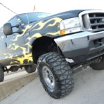 F250 Vehicle Wrap