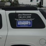 Window Graphics -Vehicle Business Branding